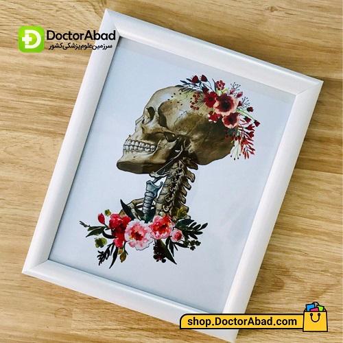 تابلوی هنر آناتومی سر و گردن