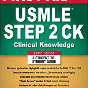 ۲۰۱۹ First Aid for the USMLE Step 2 CK