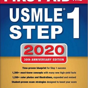 First Aid for the USMLE Step 1 30th 2020