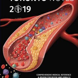 clinical handbook toronto notes 2019