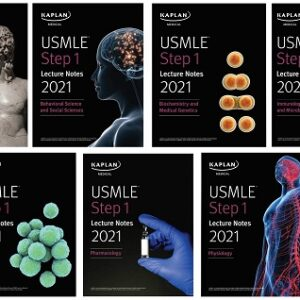 USMLE Step 1 Lecture Notes 2021 – 7Book Set