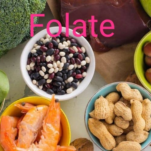 ویتامین های خانواده B - فولات FOLATE اسید فولیک